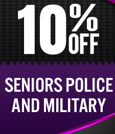 10% Discounts Offers for senior police and military in Dallas, Texas